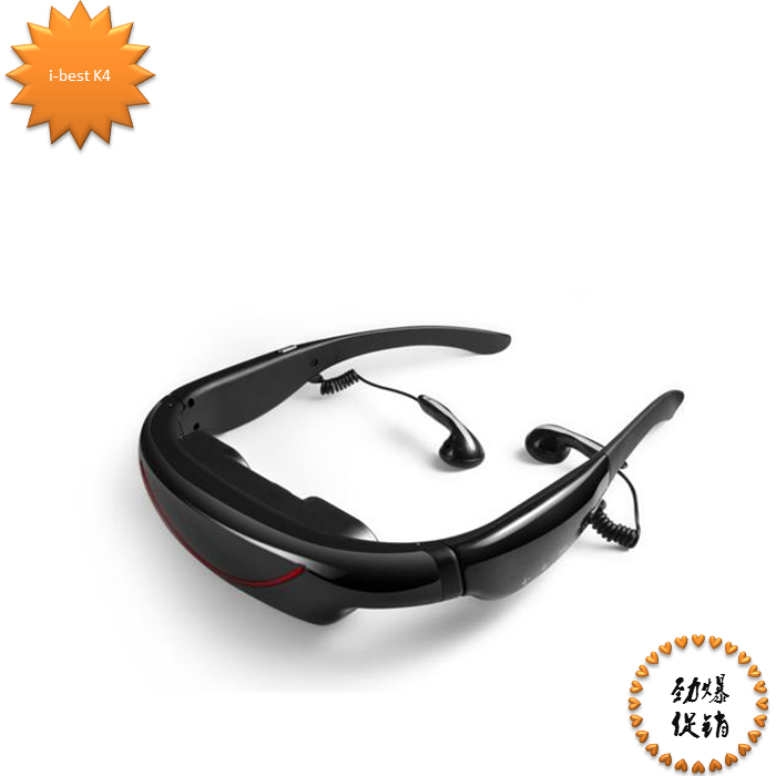 72-inch video glasses mobile theater double promotion good sound quality can be connected to the apple plus conversion line