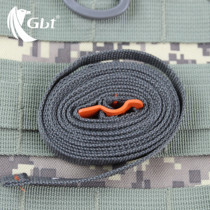 Outdoor travel equipment tied with bundled rope luggage strapping with stainless steel with hook speed solution type
