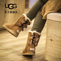 UGG Autumn Winter Womens Water-proof Anti-fouling Coated Snow Boots Classic Belle Collection Boots 1016225