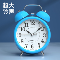 Alarm clock students with creative personality lazy quiet 牀 head small alarm childrens clock girl simple Nordic style