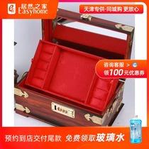 Red acid branch jewelry box