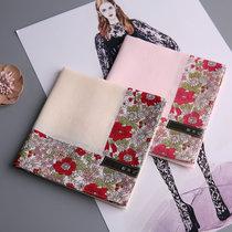 Ms. Andi Jolan cotton handkerchief wipes the eyes of 80 thick large handkerchiefs with silk silk slip.