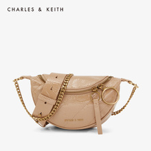 CHARLES & KEITH2019 Autumn CK2-80150844 Ring Hand-held Bill of Lading Shoulder Luggage Slant Baggage Girl