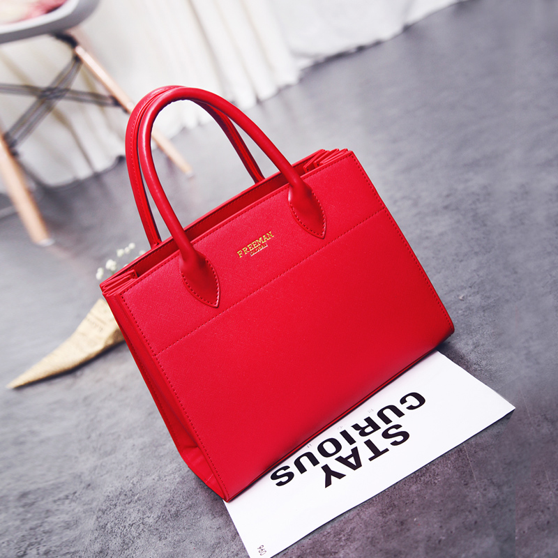 Red bag female 2018 new wave marriage Korean version of the female bag wild Messenger temperament handbag bride bag wedding bag