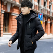 Cotton male trend of Korean short winter jacket man coat 2017 new handsome all-match tide winter cotton