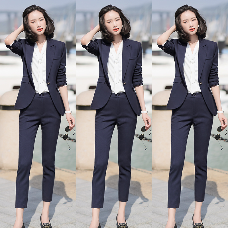 Suit womens suit workwear suit temperament president fashion business is dressed to work goddess Fan high-end work clothes