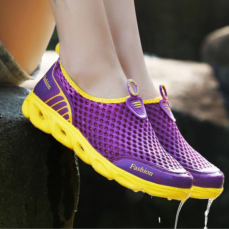 Summer outdoor shoes amphibious wading wading upstream shoes walking shoes beach casual sandals quick-drying shoes men and women