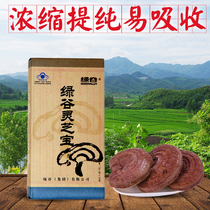 Green Valley Ganoderma lucidum Bao original Chinese Ganoderma lucidum powder agent Ganoderma lucidum spore Powder double anti-counterfeiting genuine