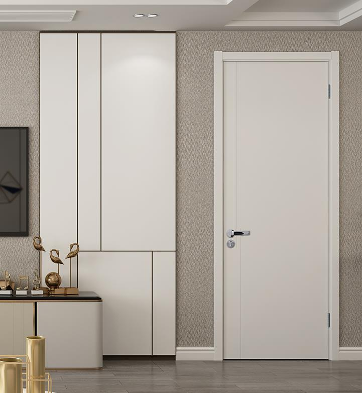 TATA wood door indoor room door study door set door home indoor soundproofed wooden door s061