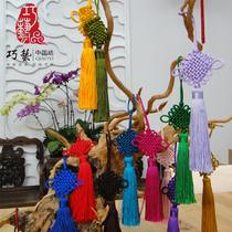 北京礼物特色手工艺品巧艺中国结八盘送老外出国外事礼品婚宴回礼
