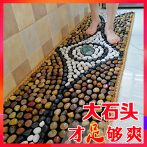 2 meters cobblestone floor mats foot massage foot stepping stones foot acupuncture Stones Road home Yuhua stone foot