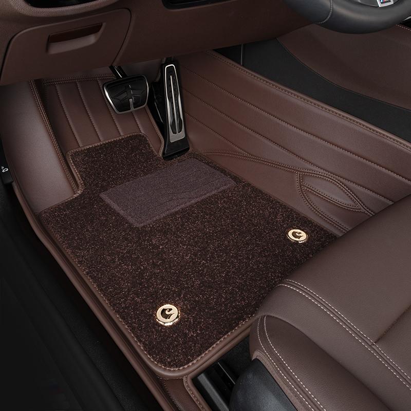 La BMW Série 5 530li525li7 Série 730Li740 X3X6X7X5 Série 3 Série 6 Gt pieds en cuir sont entièrement entourés