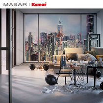 Masar -9.1㎡ German wallpaper imported wallpaper background wall painting city simple modern mural