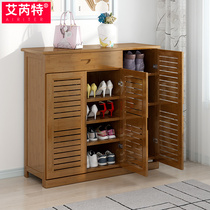 Shoe rack multi-layer simple household economy door shoe cabinet modern minimalist living room porch cabinet dormitory storage dust