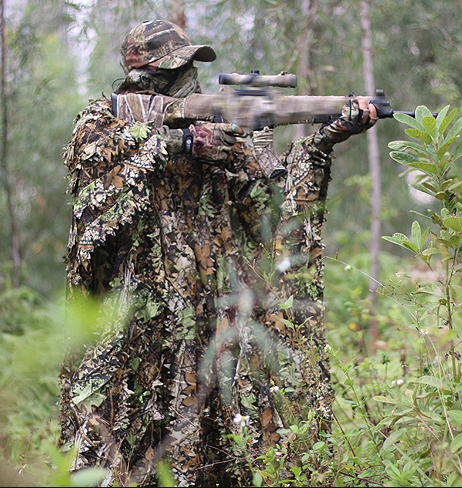 Eating Chicken Equipment Jungle Bionic Camouflage 3 D Geely Cloak Hunting Camouflage Cloak Air Cool with Receiving Bag