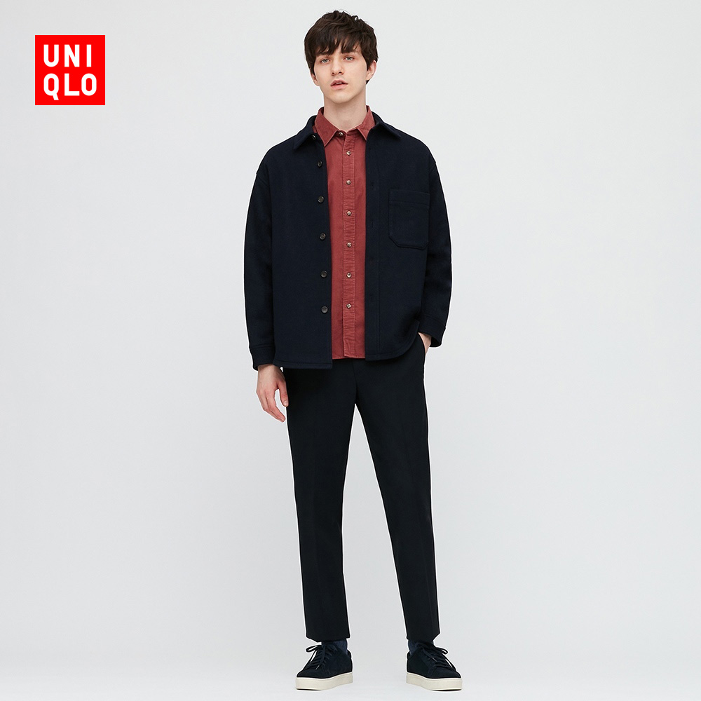 Uniqlo New Year Red Men's Corduroy Shirt (Long Sleeve) 428970 UNIQLO