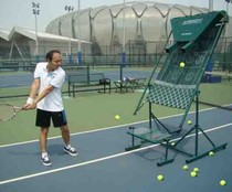 Second generation tennis practice device can be used as tennis tee Tennis training machine Three Ming tennis practice device Wall Network