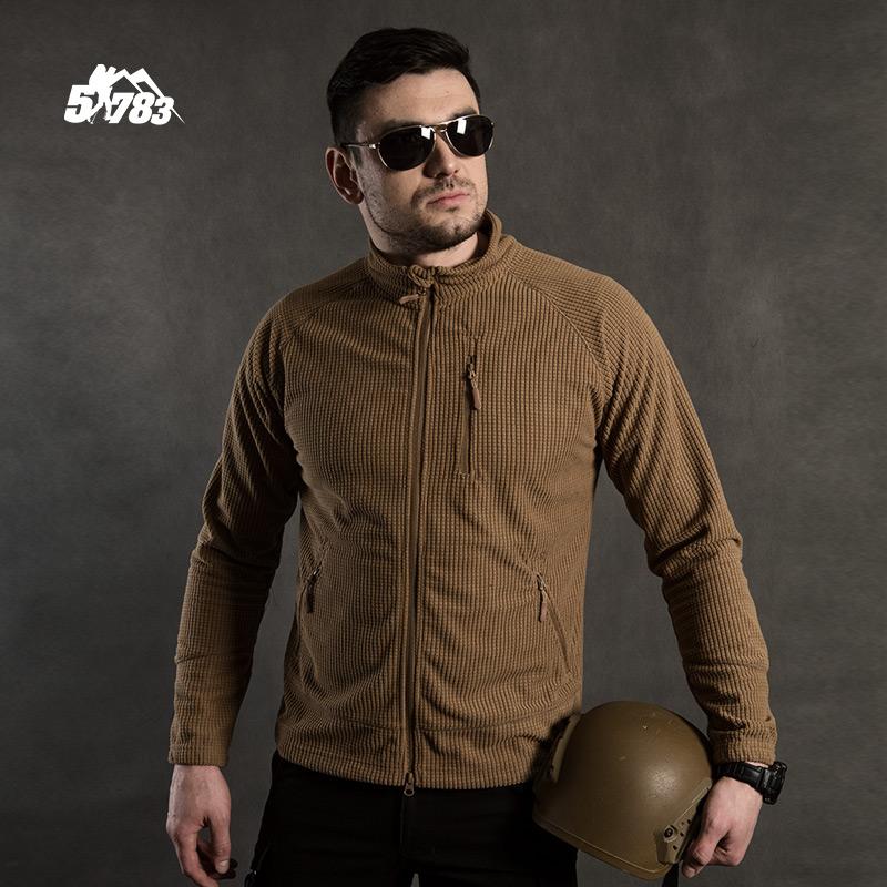 51783 Slim rocking velvet jacket men thickened outdoor velvet jacket wearing stormtrooper inner bile cardigan top