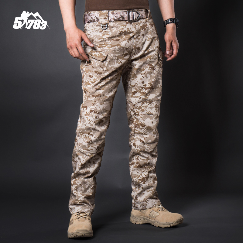 51783 Military fans outdoor 511 tactical camouflage pants mens CP training pants trim wear-resistant workwear desert digital trousers