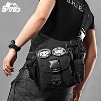 51783 наружные военные вентиляторы принадлежности седло мешок мужчины и женщины одно плечо тактический камуфляж косой крест седло мешок многофункциональный SLR сумка