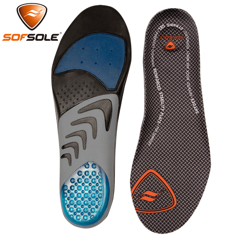 Comfortable foot, non-slip, shock absorption, sweat absorption, arch support, military training, running insoles