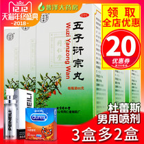 The treatment of Tongrentang five Zi Yan zong pill 60g male tonifying kidney deficiency impotence Premature ejaculation sterile zong pill