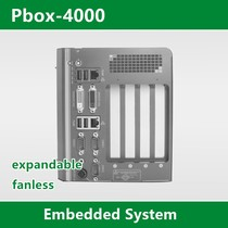 Embedded Industrial Control Machine  Custom Pbox-4000 Fanless with 4PCI PCIE Slot Card BOXPC