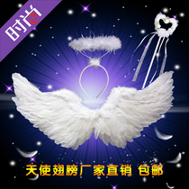 Angel wings adult Girl Feather wings decorative Vimi wing stage Walk show Halloween show props