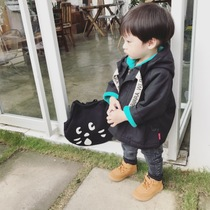 Ivan winter and velvet Ribbon Korean version for boys and girls thicken cotton clothing