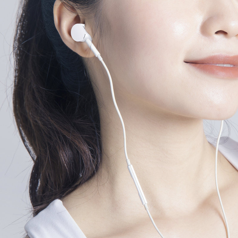 Original genuine millet 8 headphone line type-C oral version 8SE6x5x red rice millet 9note7/pronote5note3 ear-in general 98th youth version mix2smix3 mobile phone dedicated