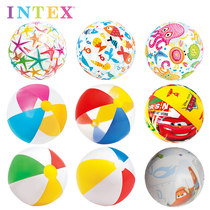 Intex Underwater inflatable ball play water polo beach ball Childrens playing toy adult handball swimming water polo