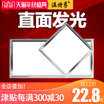 Winter integrated ceiling led panel ceiling lamp Kitchen chef bathroom buckle board embedded 30*30*60