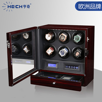 Hengqi shaking table Mechanical watch automatic watch swayerhousehold watch rotation placement box Imported from Germany