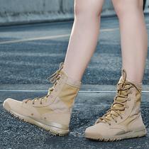 Высокие альпинистские туфли женщины водонепроницаемая нескользящая наружная обувь весна-лето пустыня обувь мужчины легкая альпинистская обувь для путешествий походная обувь