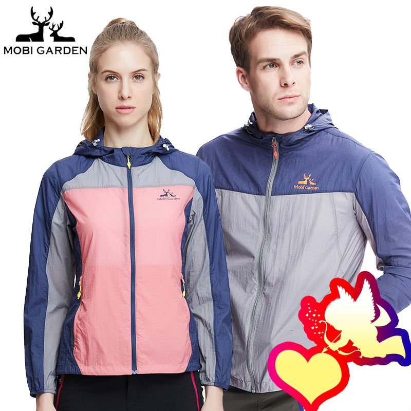 Mu Gao flute breathable skinny clothing men's new outdoor windbreaker sports sunscreen clothing quick-drying jacket women