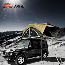 Autumn field land patrol folding roof tent outdoor 5-person car tent outdoor self-driving camping car Tent