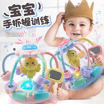 Baby toy ringer 0 to 1 year old half grasp training girl puzzle enlightenment five six seven eight-month-old boy baby
