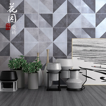 Modern simple small fresh geometric cement tiles 200 bathroom kitchen wall floor brick personality small tiles