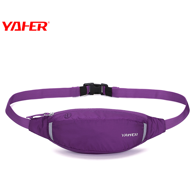 YAHER ya and sports pockets running bag female 2017 new outdoor fitness small pockets men's personal mobile phone bag