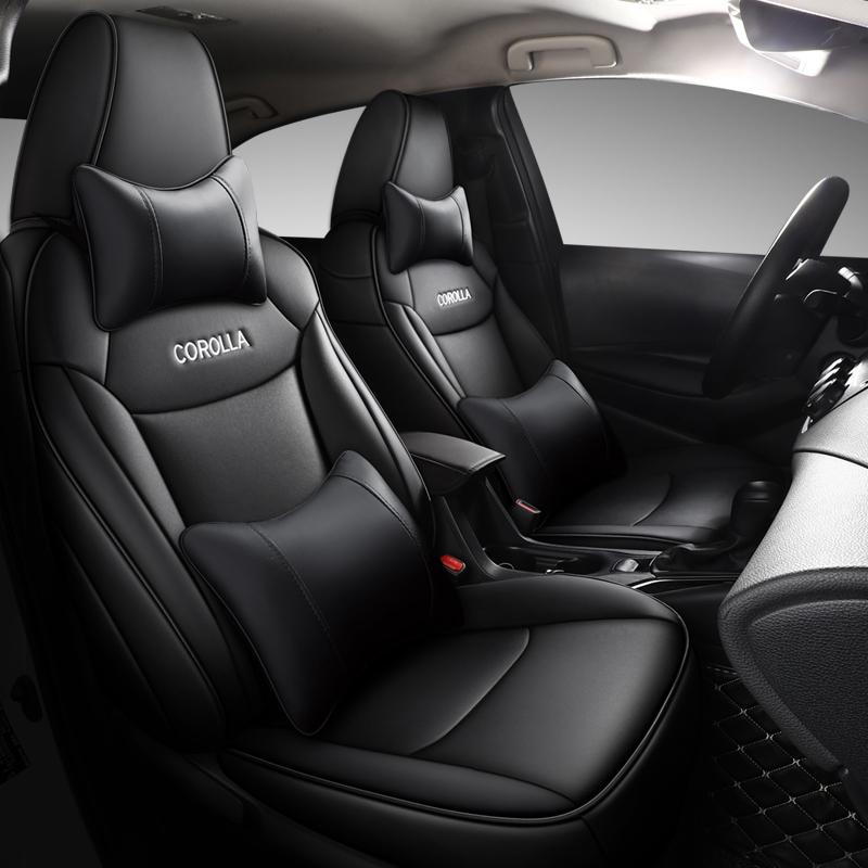 Toyotas new Corolla 07-19-20 leather car seat cover Thunderbolt double dynamo e-plus all-inclusive four-season special cushion