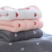 3 loaded laiduo large towel cotton adult men and women home wash bath towel cotton quick-dry soft absorbent