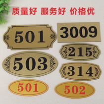 Deux-couleur plaque sculpté signes creux mur publicité pulvérisation police deux-couleur plaque porte personnalisé creux numérique modèle