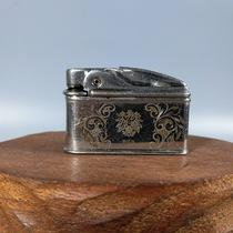 Western Antique 40 s Austrian Royal copper Vienna kerosene lighter chisel engraved pattern