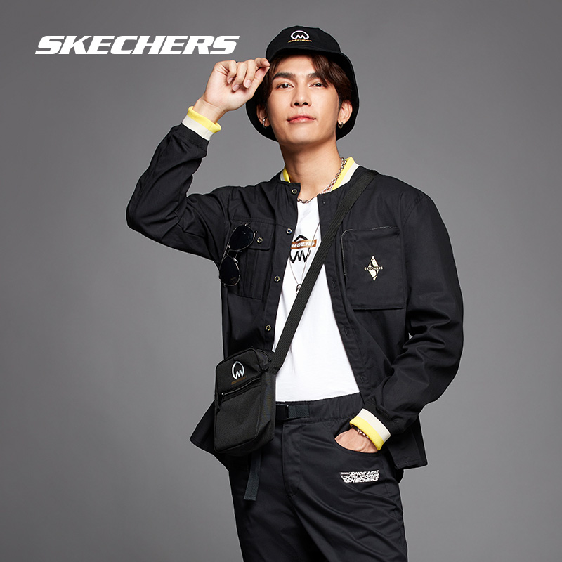 Skechers Sketch Mew co-branded the stylish outdoor travel trend casual fisherman hat men and women