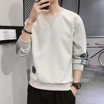 Long-sleeved T-shirt mens 2020 new spring trend bottoming shirt T-shirt Tide brand spring wear loose sweater