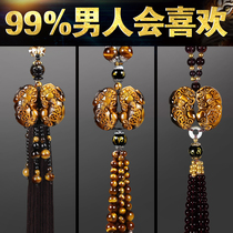 Car pendant jewelry 貔貅 high-end Baoan character car creative mirror car pendant interior pendant male