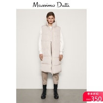 Spring   Summer Discounts Massimo Dutti Womens Long Quilted Womens Top Vest 06720509710