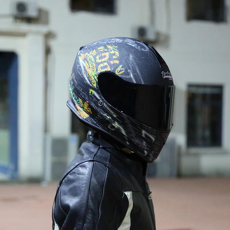 Tank Helmet Motorcycle Helmet All Helmet Mens Locomotive Racing Head Grey Four Seasons Women Bluetooth Electric Car Summer