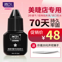 Graft eyelashes glue quick dry fresh ultra-stick long-lasting eyelash shop dedicated waterproof allergy implant eyelashes