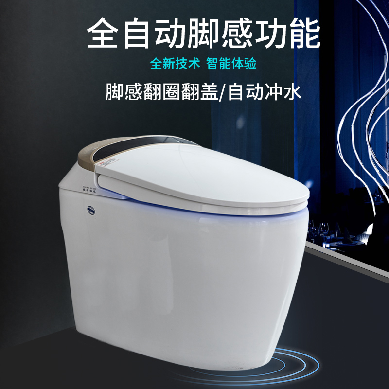 Household Intelligent Toilet Integrated Automatic Intelligent Toilet Washing and Drying Electric Remote Control Toilet
